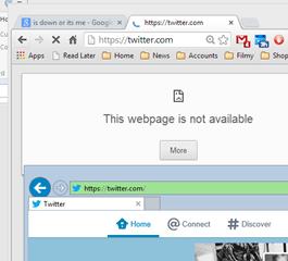 Twitter na Chrome i IE