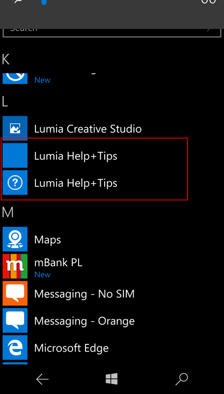 lumia 950 double_installed_apps