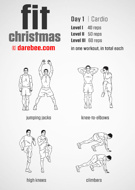 DAREBEE: Fit Christmas Day 1