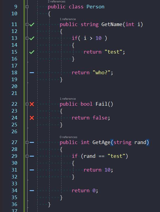 Wygląd kodu testowanego
