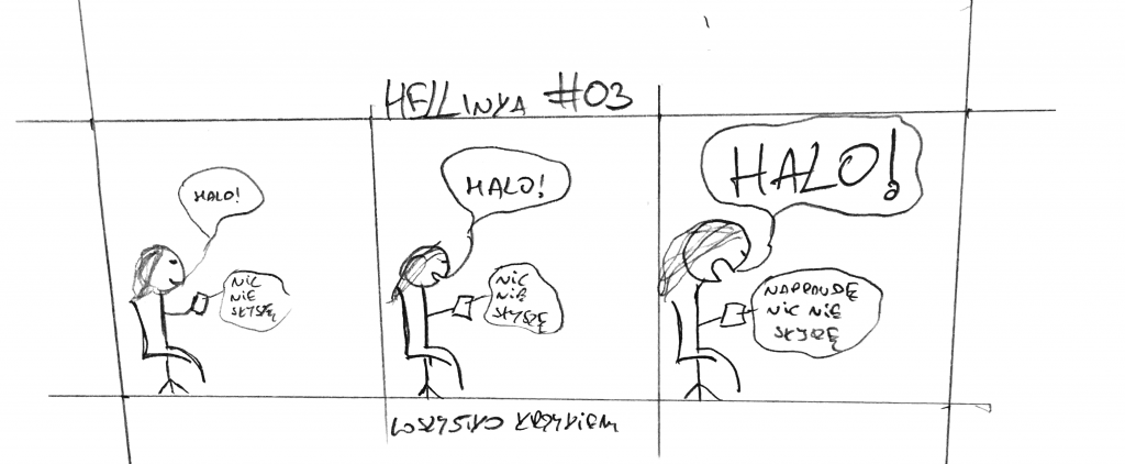 HELLinka #03 - Wszystko Krzykiem