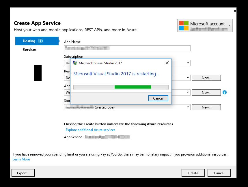 Standardowy problem każdego Visual Studio