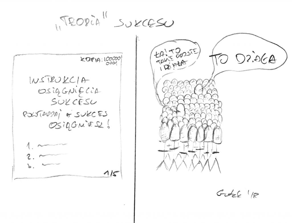 "Gutek Rysuje - ""Teoria"" Sukcesu"