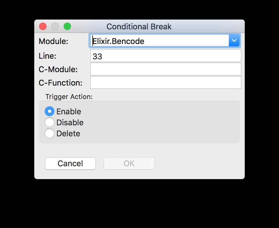Conditional Break Breakpoint